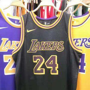 Kobe Bryant Los Angeles Lakers Black Jersey